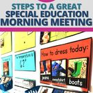 5 Steps to a Great Special Education Morning Meeting