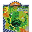 malbuch Magic 20 cm grün/blau 15 Seiten