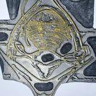 Vintage Medical Inguinal Lymph Nodes Printing plate Engraving Plate
