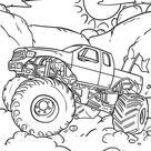 Malvorlage Monstertruck kostenlos herunterladen - TSgos.com