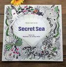 English Adult Secret Garden Marine Life Treasure Hunt Coloring Book for sale online | eBay