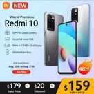World Premiere Xiaomi Redmi 10 New Smartphone Global Version 50MP AI quad camera 90Hz FHD Display