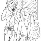 Barbie Princess Coloring Pages For Kids