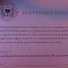 Wedding Scavenger Hunts
