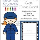 Veterans Day Craft for Kindergarten with Coast Guard Soldiers