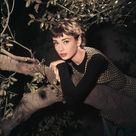 Audrey Hepburn Bangs