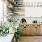 Natural wood in the Kitchen