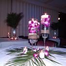 Tropical Wedding Centerpieces