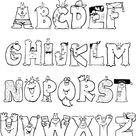 70 Moldes de letras e números para download grátis - Pipoca Rosa