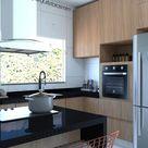 Mesma cozinha layout diferente, qual você prefere?