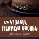 Roh-Veganer Tiramisu Kuchen