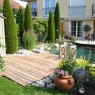 Toskana Garten mit Schwimmteich in Stockdorf - Peter Berghald Gartendesign