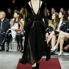 Sophisticated Givenchy with tulle/embroidered/velvet outfits