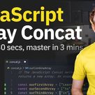 JavaScript Array Concat Method
