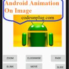 Android Rotate Animations in android is used to change the appearance and behavior of the objects.
