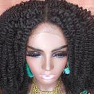 Kinky twist wig Ombre kinky braided wig for black women   Etsy
