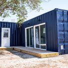L-Shape Multi-unit Container Home - The Lubbock Model - Shiplap / No Rooftop Views :( / No Bathroom Upgrade