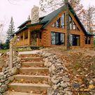 Log Homes Exterior
