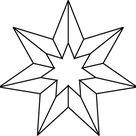 Series - Segment 024 - Segmented Star   PowerFrameworks   Chart Templates for PowerPoint Presentations