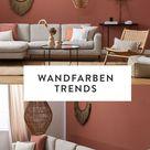 Die Wandfarben Trends 2021