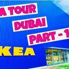 IKEA | IKEA SHOPPING | IKEA DUBAI FULL TOUR | Malayalam Vlog| PART- 1