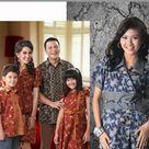 Modern Batik Dress