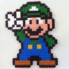 Hama Beads de Super Mario • Consola y Tablero