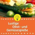 Lustige Obst- und Gemüsespieße   MAGGI Ideenküche