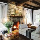Cottage Living Rooms