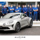 La 10.000ème Alpine A110 est sortie de l'usine de Dieppe