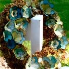 Paper Flower Wreaths