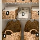 An Amazing Master Bath Linen Closet Transformation | Our Perfecting Manor