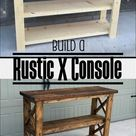 DIY Farmhouse Table Plans with Benches   Woodworking Plans, DIY furniture, DIY Plans, Dining Room Furniture, Farmhouse Furniture, Rustic