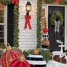 Go Big with Oversize Christmas Ornaments in Your Yard This Year