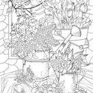 Summer Vibes  Printable Adult Coloring Page from Favoreads   Etsy