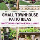 Small Townhouse Patio Ideas and My Gorgeous Tiny Backyard!