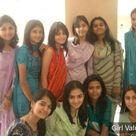 Pakistani Girls in Salwar Kameez and Saree dress