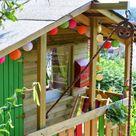 Kinderspielhaus im Garten: Tipps zur Einrichtung & Dekoration