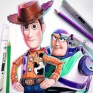 🤠 Toy Story Pencil Drawings