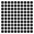 Dark App Icons, Aesthetic iPhone App Icons, Gray Black White Themes, iOS Icon Pack Black, App Icon Bundle