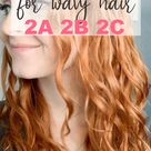 Curly Girl Method For Wavy Hair 2A 2B 2C