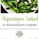 Asparagus Salad with Balsamic Glaze