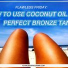 Coconut Oil Tanning