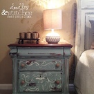 Painted Night Stands