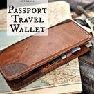 Mens Travel Wallet