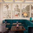 Panoramic handpainted wallpaper: Early Views of India custom | Etsy