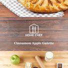 Cinnamon Apple Galette With Easy Make-Ahead Vanilla Ice Cream