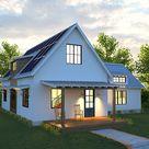 Solar Farmhouse | Modern Farmhouse | Net Zero | Deltec Homes