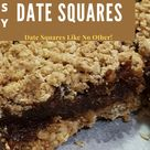 Most Popular Date Squares On Pinterest