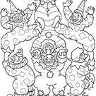 Desenhos para Desenhar Circo 4